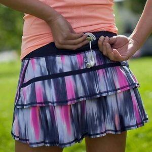 🌸Sale Day⚡️Rare Lululemon Run: Pace Setter Skirt